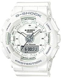Casio G-Shock S-Series Analog-Digital White Dial Women's Watch - GMA-S130-7ADR (G805)