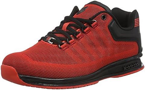 K-Swiss Men Rinzler Trainer Low-Top Sneakers, Red (Fiery Red/Black 610),
