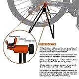 Supporto per bicicletta, ideale per esposizioni in vetrina, preparazione per corse e manutenzione rapida