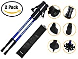 Best Hiking Poles - Apichem 8 Blue Pair of lightweight telescopic hiking Review