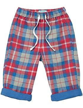 PICCALILLY in cotone biologico multicolore neonati e bambini, ragazzi Hetton Check Pantaloni