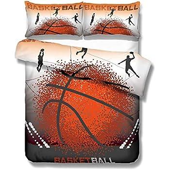 BASKET BALL - Parure de lit - Housse de couette - 140x200