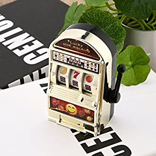 Hemore Children' s Slot Machine Mini Toy Lucky Birthday Gift Kids Safe New 1Piece Baby Game Educational supplies
