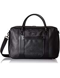 Fred Perry Saffiano Hombre Holdall Negro