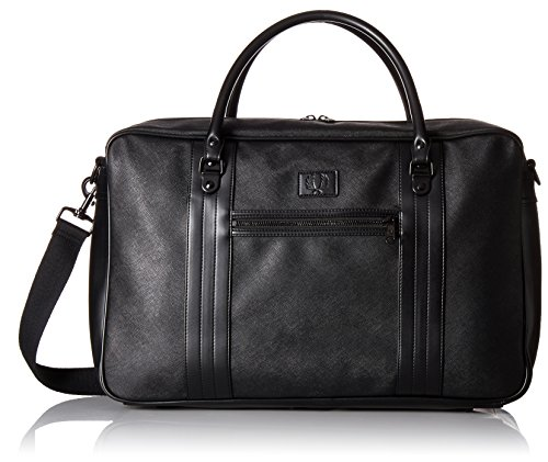 Fred Perry Saffiano Homme Holdall Noir