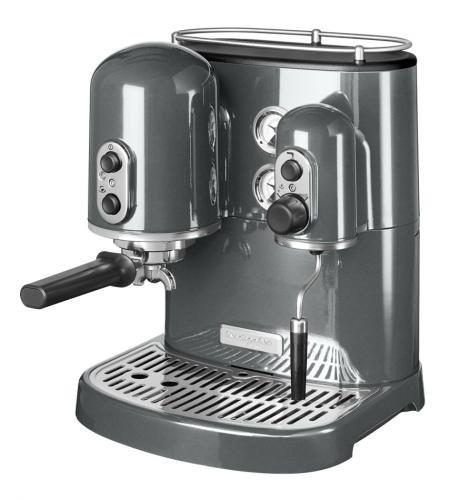 KitchenAid 5KES2102EMS Espressomaschine Artisan Medallion, silber