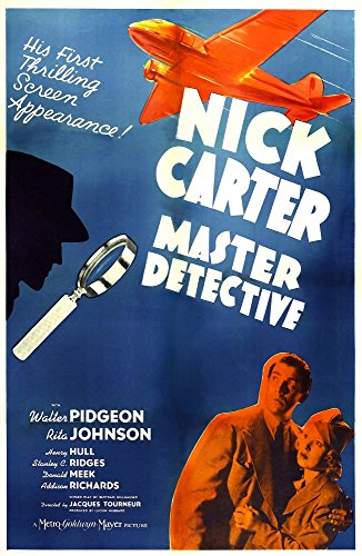 Nick Carter Master Detective U Movie Poster Masterprint (60,96 x 91,44 - Carter, Detective Nick Master