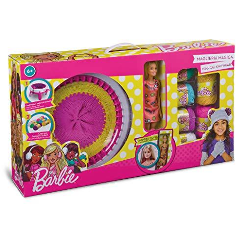 Grandi giochi gg00524-maglieria magica barbie inclusa,, gg00524