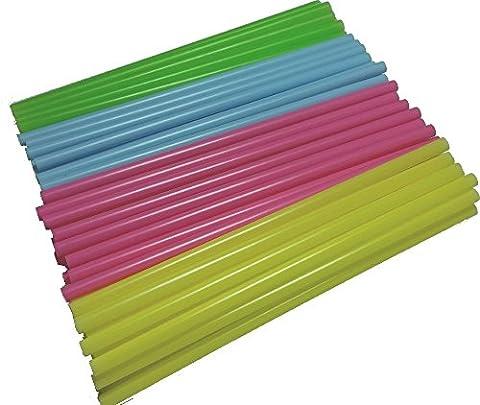 100 Cake Pop Sticks 11,5 cm, Pastellfarben,yagma, Kunststoff Stiele für Kuchen am Stiel