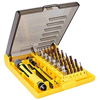 OLRIKE 58 in 1 Precision Screwdriver Set, 42 bit S2 Alloy Steels Magnetic Professional Mini Portable Screwdriver Bit Sets, Repair Tool for PC, Laptop, MacBook, Mobile, Phone, Xbox, Glasses