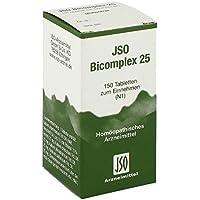 Jso Bicomplex Heilmittel Nummer 25 150 stk preisvergleich bei billige-tabletten.eu