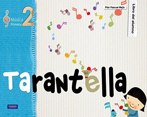 Tarantella 2 libro del alumno - 9788420557557 por Pilar Pascual Mejía