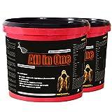 Das neue ALL in ONE! 5200g Himbeergeschmack Whey-Protein Kohlenhydrat-Mix