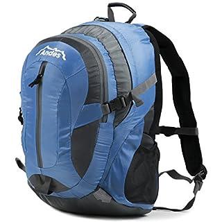 Andes 35 Litre Blue Rucksack/Backpack for Camping/Hiking/Travel/School Bag