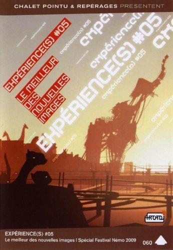 Experiences 05 - Némo Film Festival 2009 ( Dix / Strata #2 / Kudan / 4 / Postman Returns / Anima / Landing Lights / Clear Skies In May / Olympic Stadium / Blind Side of a Secret / Lila ) ( Four ) by Rina Koduru