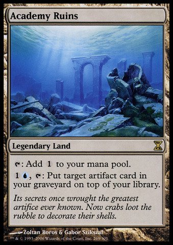 Magic: the Gathering - Academy Ruins - Rovine dell'Accademia - Time Spiral