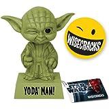 Pop! Movies - Wisecracks Yoda de Star Wars, figura de 15 cm (Funko FUNWWIS2537)
