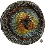 Lana Grossa Gomitolo Versione 200g Kammgarn - Bobble Wolle mit Farbverlauf und...