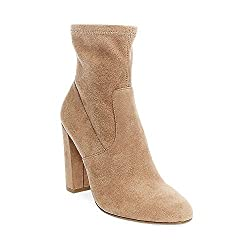 Steve Madden Womens Edit Camel Fabric Bootie Casual 10 US