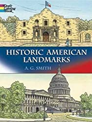 Historic American Landmarks (Dover History Coloring Book) by A. G. Smith (2005-09-08)