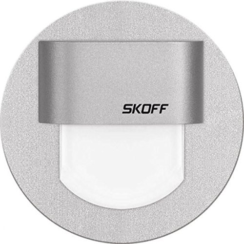 SKOFF RUEDA MINI Luminaire mural LED en aluminium ? lumi?re bleue