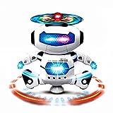 Jouets pour bébé,Transer® Cool marche danse Smart Space Robot musique légère Kids jouets électronique