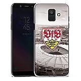 DeinDesign Samsung Galaxy A6 2018 Hülle Case Handyhülle VfB Stuttgart Fanartikel Stadion