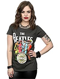 2c2538469aa13 The Beatles Mujer SGT Pepper Camiseta