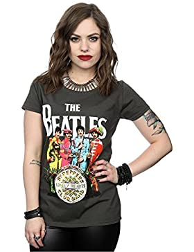The Beatles Mujer SGT Pepper Camiseta