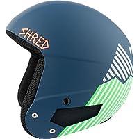 Shred Casco Brain Bucket Need More Snow, Navy Blue/Green, S/M, dhebbkg13