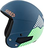 Shred casco Brain Bucket Need More Snow, Navy Blue/Green, S/M, dhebbkg13
