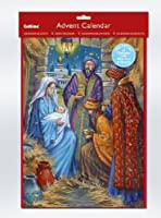 Religious Advent Calendar with Bible Text & Pictures & Env