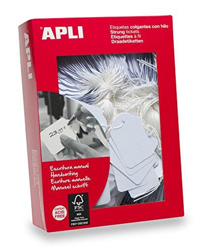 APLI 390 - Pack de 500 etiquetas colgantes
