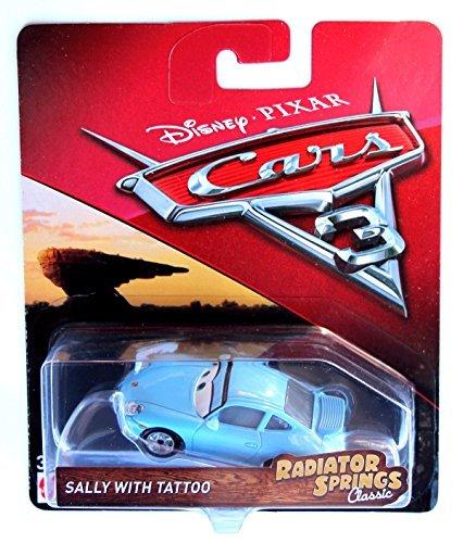 Disney Pixar Cars 3 - Sally with Tattoo (Cars Tattoo Disney Sally)