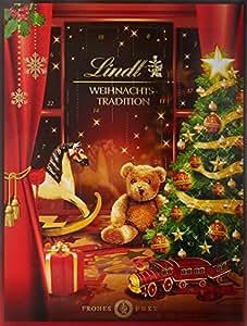 Lindt & Sprüngli Weihnachts-Tradition Adventskalender, 1er Pack (1 x 250 g)