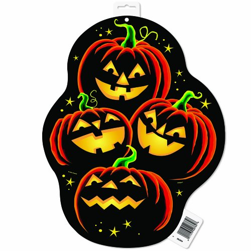 umpkin Grin Halloween Decoration ()