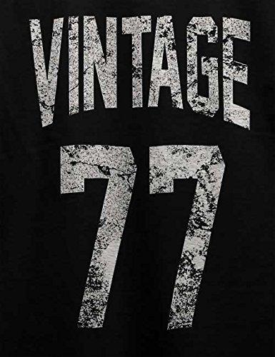 Vintage 1977 T-Shirt Schwarz