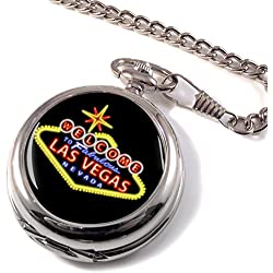 Las Vegas High Rollers Full Hunter Pocket Watch