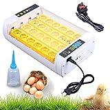 XuanYue Huevo Incubadora Automático 24 Huevo Digital Incubadoras Torneado de Pollo Incorporado Pantalla Hatcher Para Pollos Patos Ganso Aves de corral Paloma