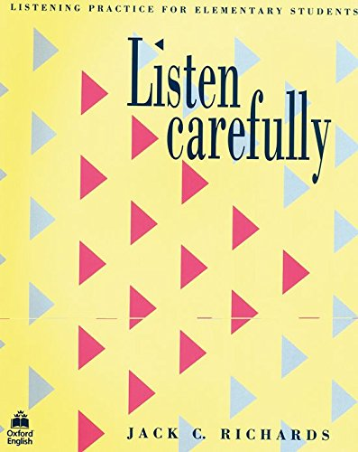 Listen Carefully Student's Book: Listening Practice for Elementary Students