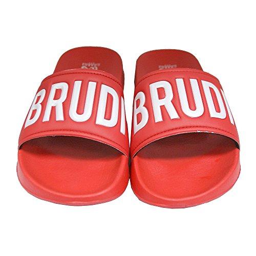 CHABOS IIVII Herren Schuhe / Sandalen Brudiletten Red