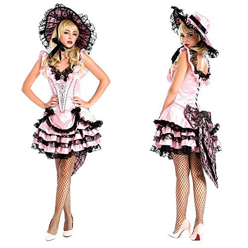KAIDILA Halloween Kostüm weiblichen Erwachsenen Luxus Königin Kostüm Retro-Studio Foto Kostüm Piraten Outfit
