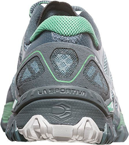 La Sportiva Bushido Women's Chaussure Course Trial - AW16 slate-jade green
