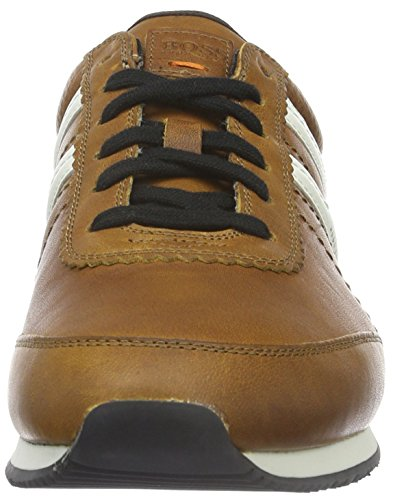 Boss Orange Adrenal_Runn_Pp 10193514 01, Baskets Basses Homme Marron (Medium Brown 210)
