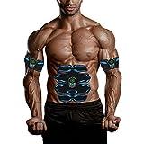 Better Angel Electroestimulador Muscular Abdominales Masajeador Eléctrico para Cinturón, Abdomen/Brazo / Piernas/Cintura Entrenador Muscular, USB Recargable (Hombre/Mujer)