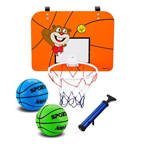 YAPASPT Indoor Mini Basketballkorb mit 16