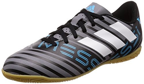 Adidas Nemeziz Messi Tango 17.4 In J, Zapatillas de Fútbol Sala Unisex Niño, Gris (Gris/Ftwbla/Negbas 000), 38 EU