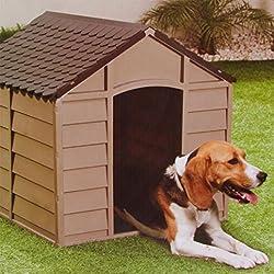 Hundehütte wetterfestes Hundehaus Hundezwinger Hundestall