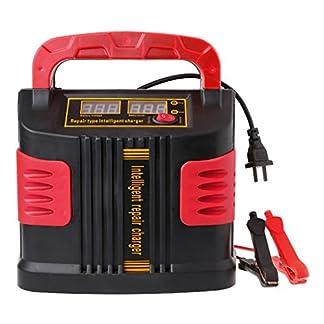WEISHAZI 350W 14A Auto Plus Ajustar LCD cargador de batería 12V-24V arrancador de coche portátil