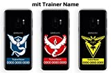 Pokemon Go Team Trainer Code Aufkleber Sticker für Handy | individuell mit Name und Code | Valor Mystic Instinct
